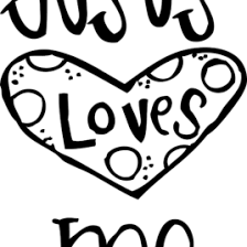 Free Coloring Pages For Jesus Loves Me Easter Cross Coloring Pages