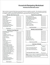 Download Here 5 Personal Budget Template Household Worksheet Home ...