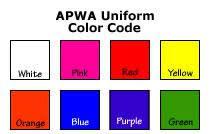 Apwa Uniform Color Code Chart Contractors Nm811 Org