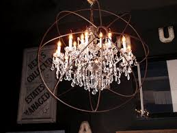 industrial lighting chandelier. industrial glamour hang it high lighting chandelier