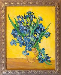van gogh irises painting editorial stock photo ilration of nphoto 41041678