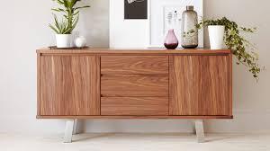 i walnut wood veneer sideboard