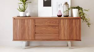 i walnut wood veneer sideboard