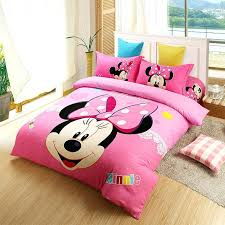red mickey and mouse bedding sets
