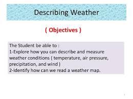 Describing Weather G3