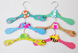 Baby Coat Rack Wooden Children Baby Kids animal Clothes Coat Hangers kids garment 26