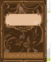 Old book cover stock vector. Image of document, centuries - 7952125