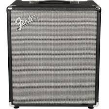 Транзисторный <b>басовый комбоусилитель Fender</b> Rumble 100 ...