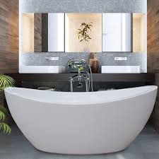 aquatica purescape 75 x 38 freestanding acrylic slipper tub