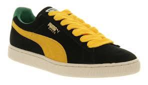 puma shoes suede black.