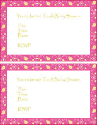 Free Printable Baby Shower Invitations For Girls Free Baby Shower Invitations Free Printable Baby Shower