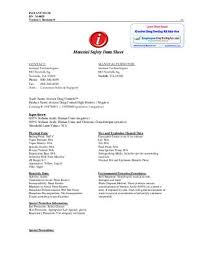 Icontrols Material Safety Data Sheet Msds Employment Drug