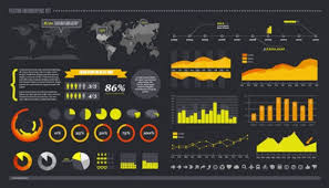 Photoshop Chart Template Chart And Graph Infographic Set Free After Effect Aep