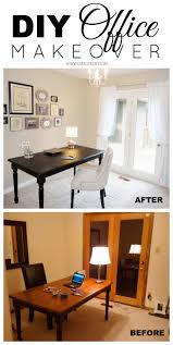 how to decorate office. DIY Budget Office Makeover For Just $300! So Many Great Ideas In This Post About How To Decorate I