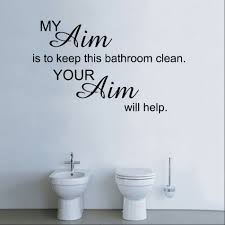 Bathroom Ideas: Bathroom Wall Decals Stickers Above Toilet In ...