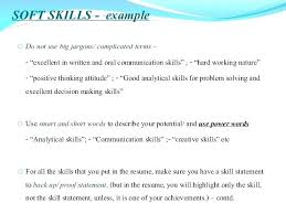 Fantastic Resume Phrases For Skills Customer Service Socialumco Classy Resume Communication Skills