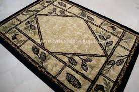 log cabin rugs lodge cabin rustic black green brown tan area rug rustic log cabin area log cabin rugs