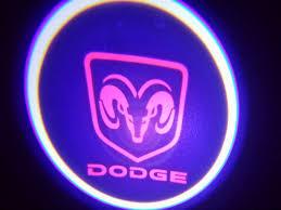 Ram Door Projector Lights Wireless Dodge Ram Red Ghost Door Logo Projector Shadow