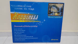 happiness diy italian painting by numbers