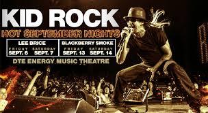 Kid Rock Detroit Seating Chart Kid Rock 313 Presents