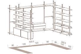 Armadio Angolare Misure : Cabine armadio su misura progettiamo la tua cabina dei sogni