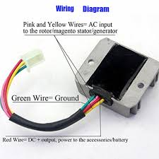Ford Voltage Regulator To Generator Wiring Diagram Regulator Rectifier Wiring-Diagram