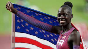 800-meter race at Tokyo Olympics