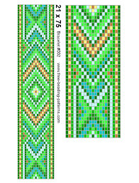 Bead Loom Patterns Classy Seedbeadloombracelet48full