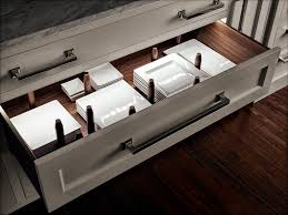Kitchen Drawer Storage A Customizable Peg System And Led Lights Turn This Basic Kitchen