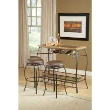 lakeview 24 5 in brown cushioned bar stool