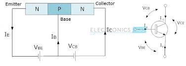 npn transistor circuit working characteristics applications npn transistor
