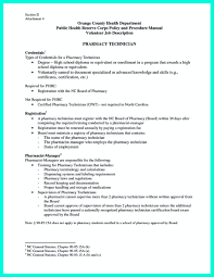 Pharmacy Excellent Technician Resume Sample For Job Vacancy ...