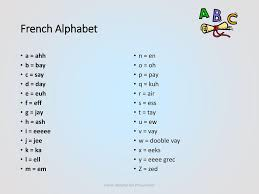 The international phonetic alphabet (ipa) is a the international phonetic alphabet (ipa) is a system where each symbol is associated with a particular english sound. French Alphabet Pronunciation Ppt Download