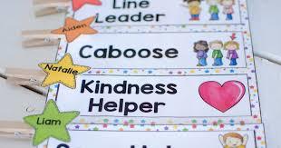 Classroom Jobs Helper Chart And Ideas Preschool Inspirations
