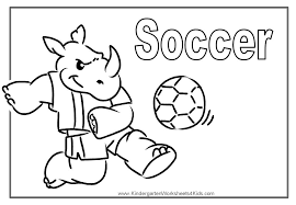 Small Picture Coloring Book Soccer Coloring Coloring Pages