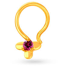 Small Gold Nose Pin Design Buy Nose Pin Online In India At Best Price Gold Diamond