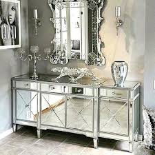living room with mirrored furniture. Mirrored Furniture Living Room Classic Mirror Regency Cabinet With Silver Trim Ideas E