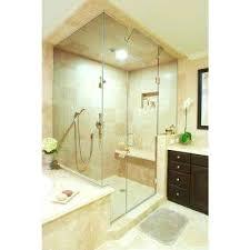 appealing how to install a frameless shower door installed custom shower doors installing glass shower door