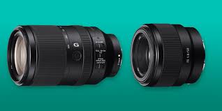 <b>Sony</b> Reveals <b>Full</b>-<b>Frame</b> 50mm f/1.8 and Long Zoom Lenses ...