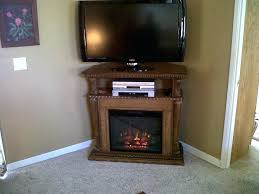 electric fireplaces corner tv stand inch corner electric fireplace