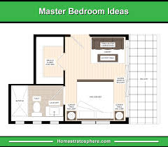 master bedroom with bathroom floor plans. En-suite Bathroom And Walk-In Closet At The Left Side With A Three-Seater  Sofa Center Table Facing Bed Sliding Door Right Leading Master Bedroom Bathroom Floor Plans R