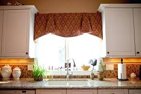 over the sink kitchen window treatments image of kitchen window treatments ideas over sink kitchen sink