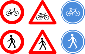 Small Picture Bicycle Traffic Signs Clip Art at Clkercom vector clip art