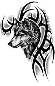 татуировки волков для мужчин Tutatu
