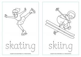 Teachers may also print them for their hockey coloring sheets are a fun activity for hockey themed birthday party loot bags or just a fun activity for kids who are hockey fans to do in the winter. Winter Olympics Printables And Activities For Kids Cool Mom Picks Olympic Printables Sports Coloring Pages Winter Olympics