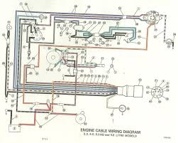 i have a 5 0 omc cobra motor on my boat i dont have any power connects to the engine from the start solenoid is the red wire going to the fuse then from the fuse to 34 then tokey switch