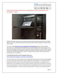 Data Center Ups Design Ppt Global Data Center Uninterruptible Power Supply Ups