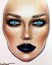 Face Chart Makeup Instagram Saubhaya Makeup