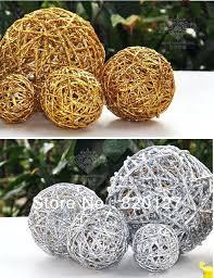 Decorative Vase Filler Balls Vase Filler Balls 100pcs Handmade Rattan Wicker Balls Vase Filler 8