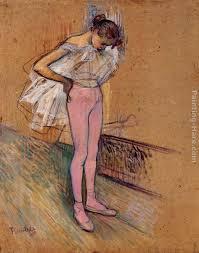 henri de toulouse lautrec r adjusting her tights